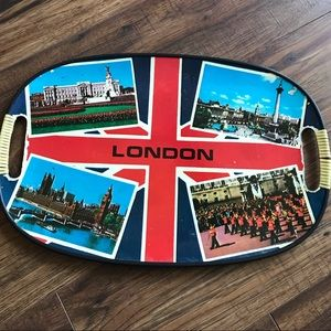 Other - Vintage London serving tray